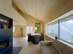 House A. Davos. Dietrich Untertrifaller Architekten.