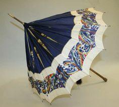 Edwardian parasol via The Costume Institute of The Metropolitan Museum of Art