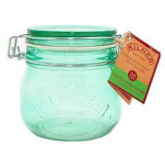 Tarro de cristal verde 500 ml. Kilner