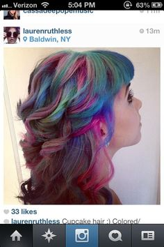 This hair might be the coolest thing I've ever seen!!
