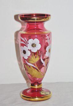 Crystalex of Czechoslovakia vintage Bohemia by LizzysVintageGems