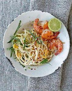 Rezept: Spaghetti mit Limette