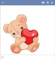 Valentines Teddy Bear vector image on VectorStock Cute Polar Bear, Cute Teddy Bears, Bear Vector, Vector Free, Symbols Emoticons, Emoji Symbols, All Emoji, Teddy Bear With Heart, New Sticker