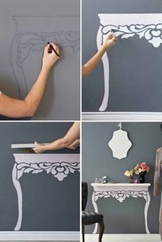 Your Guide To Shabby Chic Decor - Diy Home decor Diy Home Decor On A Budget, Decorating On A Budget, Cheap Home Decor, Shabby Chic Vintage, Contemporary Home Decor, Home And Deco, Creative Home, Creative Ideas, Home Decor Styles