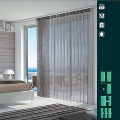 ΣΙΔΗΡΟΔΡΟΜΟΙ ΚΟΥΡΤΙΝΩΝ STRALYS Curtains, Home Decor, Blinds, Decoration Home, Room Decor, Interior Design, Draping, Home Interiors, Net Curtains