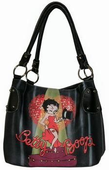 Brand New BETTY BOOP CAN CAN HANDBAG Free Shipping