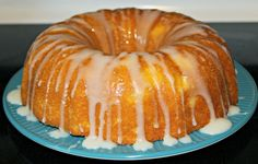 Mango Bundt Cake with Pineapple Glaze #recipe (sponsored) #mangover