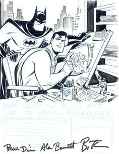 Bruce Timm: WB Animation Sketch, in EricChun's Bruce Timm Comic Art Gallery Room - 26591