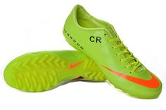 af9e50c313a0 Nike Mercurial Vapor IX CR7 TF Cleats - Electric Green Orange  New Soccer  Cleats 018  -  53.97   Nike Free 3.0