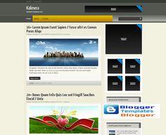 Kalimera Blogger Template Blogspot