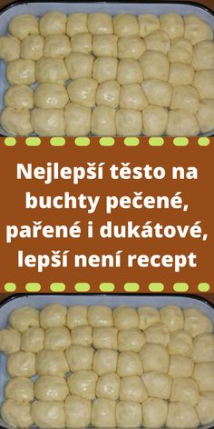 Czech Recipes, Bread And Pastries, Nutella, Food And Drink, Sweets, Homemade, Baking, Vegetables, Breakfast