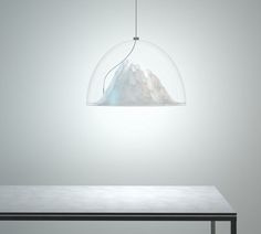 Mountain View Lamp by Dima Loginoff