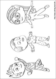 PJ Masks Coloring Picture Pj Pages Disney For