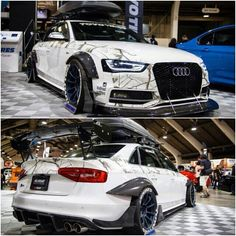 Crazy #AudiA4 #Audi #Slammed #racecar #fast Are we going on a road trip?