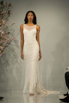 A look from the Theia spring 2018 bridal collection. Photo: courtesy