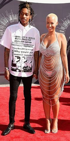 MTV Video Music Awards 2014 : Wiz Khalifa and Amber... Tasteful is not the word
