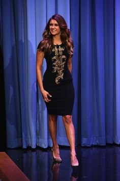"Nina Dobrev Visits ""The Tonight Show Starring Jimmy Fallon"""