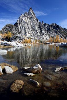 Gnome tarn  Enchantment Lakes  Alpine Lakes Wilderness Area  Washington State