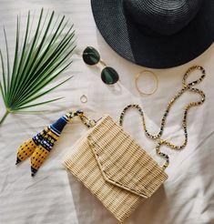 #flatlay #handmade #wickerbag #summer #musthaves #fashion #potd