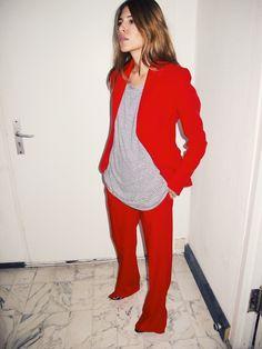 Maja Wyh wearing Altuzarra