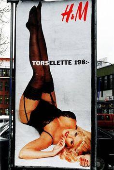 anna nicole smith | Legendäre H&M Werbeplakate