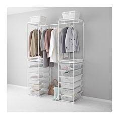 Arrumação em estruturas e cestos - ALGOT sistema - IKEA