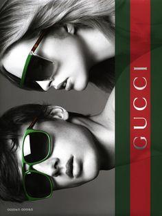 dcd01463e6b Julia Frauche for Gucci Eyewear Spring 2012 Campaign by David Vasiljevic