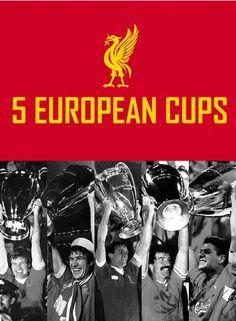5 European Cups - @Liverpool FC #LFC