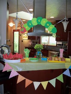 "Clare's Contemplations-""Very Hungry Caterpillar"" Baby Shower #hungrycaterpillarbabyshower #bookbabyshower #genderneutralshower"