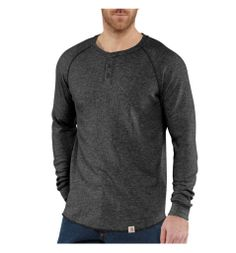 Carhartt - Product - Men's Lightweight Thermal Knit Henley Relaxed Fit