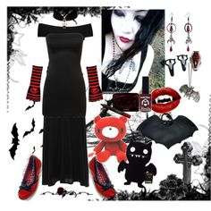 """""""The dark won't let you go again"""" by octoburfrost on Polyvore #goth #gothic…"""