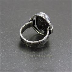 Strukova Elena - copyrights jewelry - Ring charoite