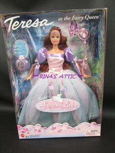 TERESA as the FAIRY QUEEN Barbie Doll of SWAN LAKE B3285 #mattel