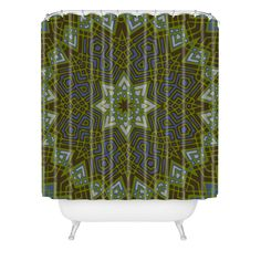 Wagner Campelo Mandala 6 Shower Curtain | DENY Designs Home Accessories