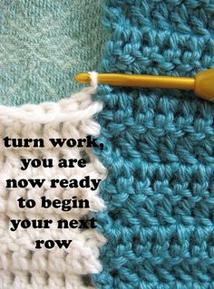 Joining Crochet Squares ~ Tutorial