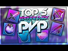TOP 5 PVP TEXTURE PACKS - TOP Resource Packs / TOP Texture Packs | BaumBlau