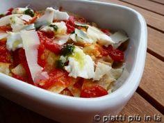 Lasagne fredde di pane carasau con salsa di pomodoro e pesto | piatti piu' in la'