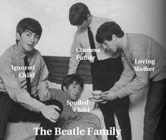 funny beatles pictures - Google Search Ha ha!