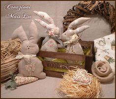 Conigli decorativi