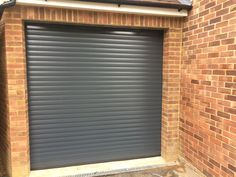 RSG7000 electric garage door roller shutter fitted to a residential property in Reading.