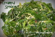 Simple Creamed Spinach (Dairy Free) « Real Food Freaks