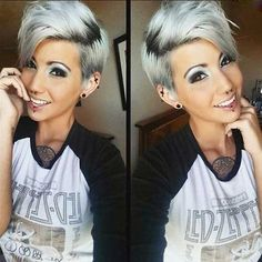 12.Pixie Haircut for Gray Hairs