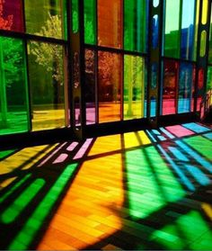 Ventanales de colores