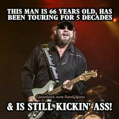 From our rowdy friends over at the Fans of Hank Williams Jr. Country Musicians, Country Music Singers, Country Artists, Best Country Music, Country Music Stars, I Love Music, Good Music, Outlaw Country, Country Guys