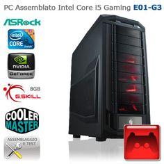 "Assembled PC Intel Core i5 Gaming ""E01-G3""  CASE: Cooler Master Storm Trooper XL-ATX; PSU:Corsair Professional Series Gold AX850 850W 80plus; HDD:Seagate 1TB; SSD:OCZ Vertex 3 Max IOPS 120GB; CPU:Intel Core i5-3570 3,4GHz; COOLING:Corsair Hydro Series H100; RAM:G.Skill Ares PC3-12800 1600MHz 8GB; MB:ASRock Z77 Pro4; VGA:Gigabyte NVIDIA GeForce GTX 670 Overclocked; http://www.e-key.it/prod-pc-assemblato-intel-core-i5-gaming-e01-g3-36614.htm"