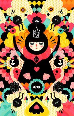 O mundo fantástico e colorido dos personagens de Muxxi: http://followthecolours.com.br/art-attack/o-mundo-fantastico-e-colorido-dos-personagens-de-muxxi/