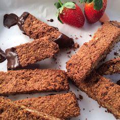 Gezonde biscotti met amandel en chocolade - Amber Albarda