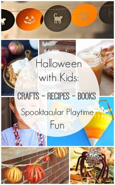 Celebrating Halloween with Kids - The Ultimate Guide to Celebrating Halloween with Kids: Crafts, Books, and Recipes for Spooktacular Playtime Fun! #kids