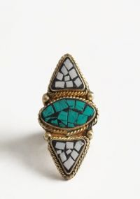 Tribal Guide Mosaic Ring