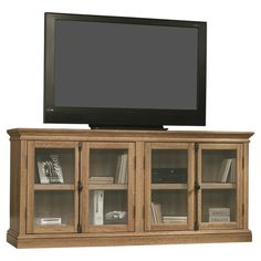 """Found it at Wayfair - Barrister Lane 70"""" TV Stand in Scribed Oak"""